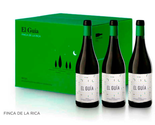 Caja Tres Botellas El Guia 2018