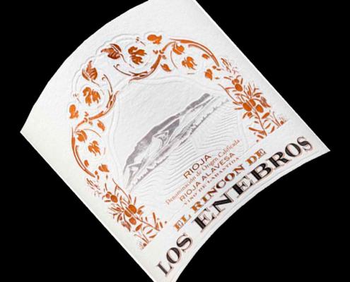Etiqueta Botella El Rincon De Los ENEBROS -2018